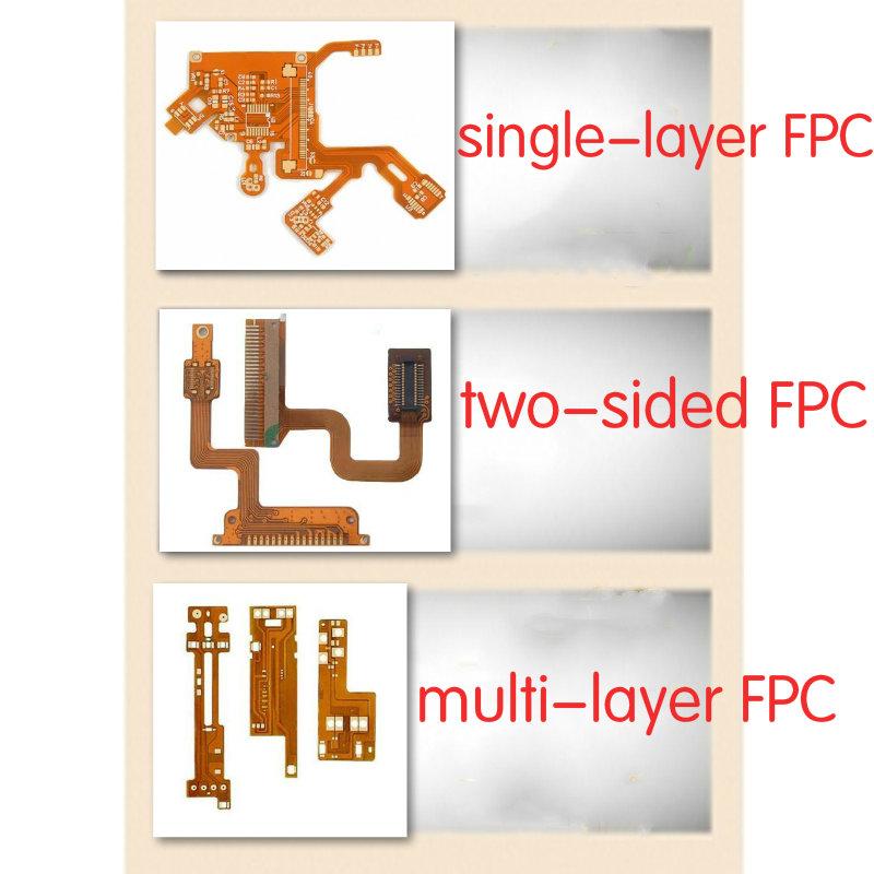 La diferencia de una sola capa FPC / doble FPC / multi - capa de FPC
