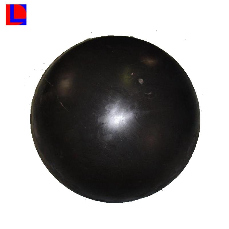 bola de poliuretano sólido de caucho macizo personalizado