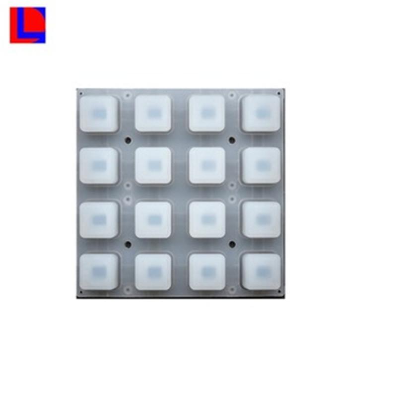 Personalizado barato y de larga duración de caucho de silicona teclado personalizado