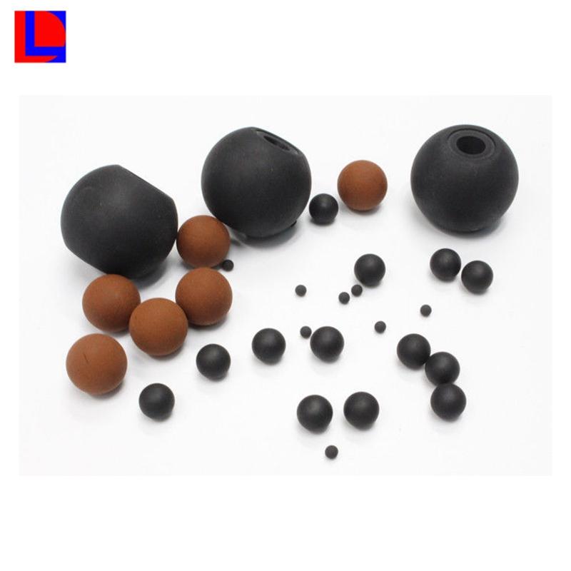 Bola / esfera de caucho de silicona de grado alimenticio sólido
