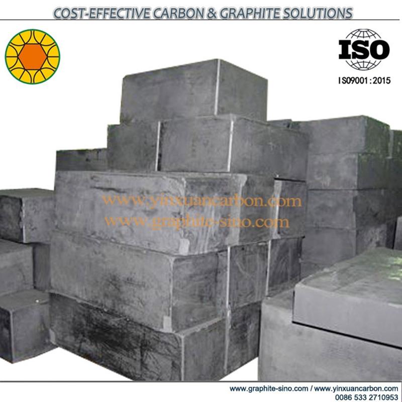 Material de grafito isostático
