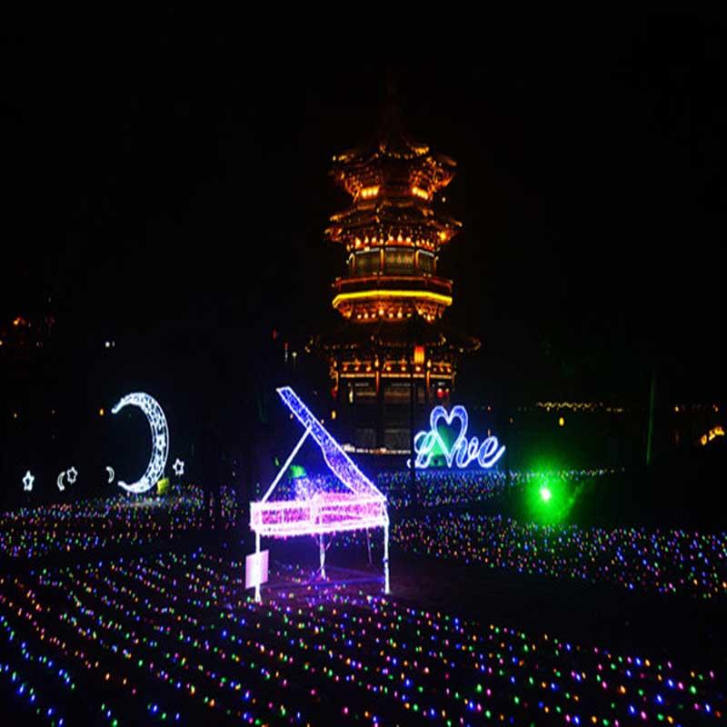 """80 millones de luces LED crear Taizhou \ \ \ """"mundo de sueños \"""""""