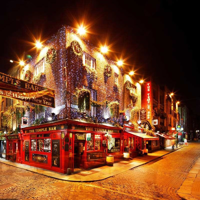 La capital irlandesa planea reemplazar las farolas tradicionales con luces LED a un costo de más de 600 millones de yuanes