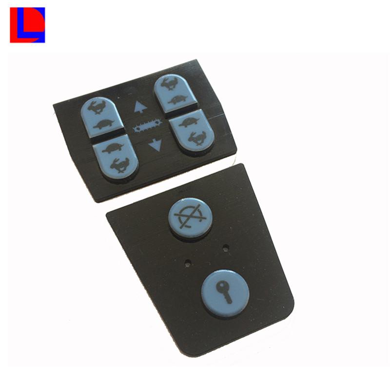 OEM dio la bienvenida con el botón de silicona por encargo teclado de goma