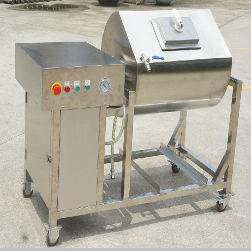 Pasos específicos de la operación de la máquina de decapado al vacío