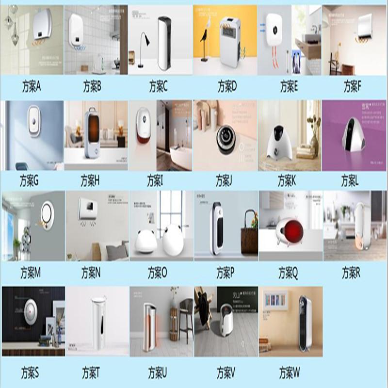 Serie de calentadores de ventilador eléctricos- NUEVO DISEÑO Y NUEVOS PRODUCTOS DE DESARROLLO