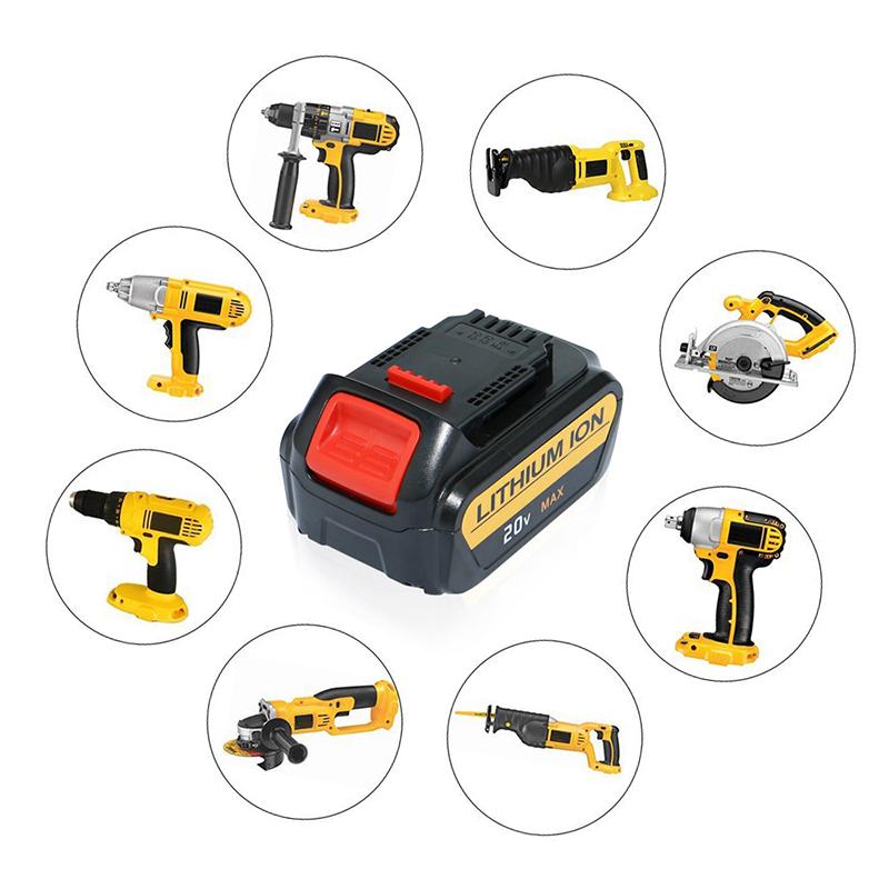 Para batería de herramienta eléctrica Dewalt 20V