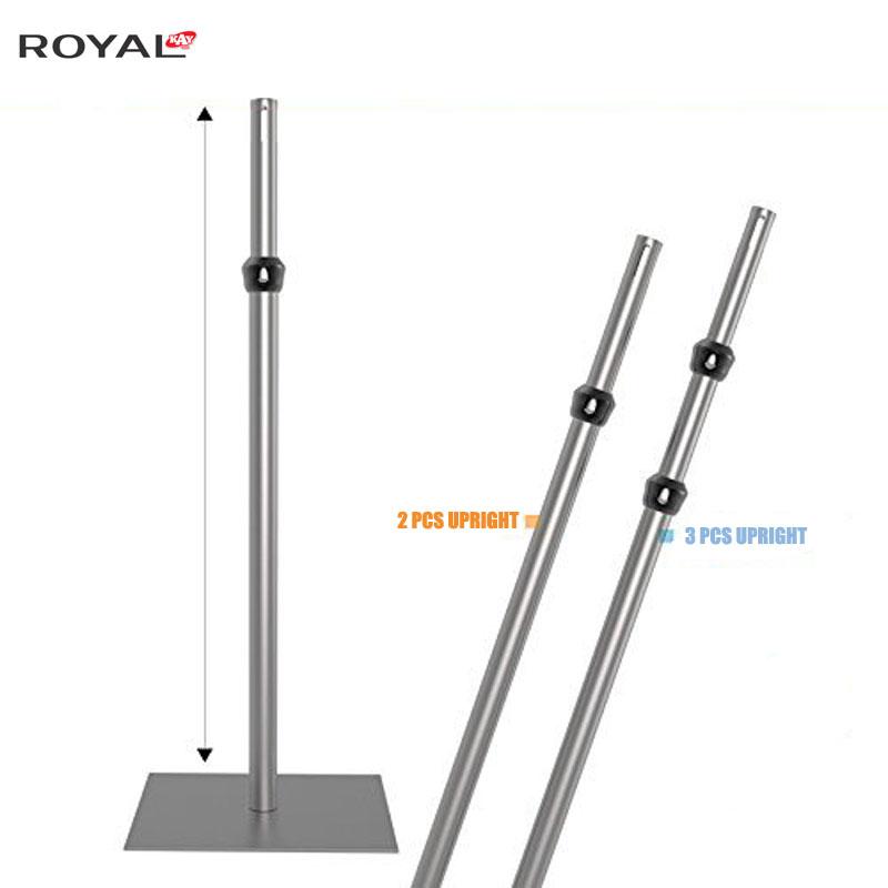 Instale tubos y cubra verticalmente de 5 pies a 8 pies