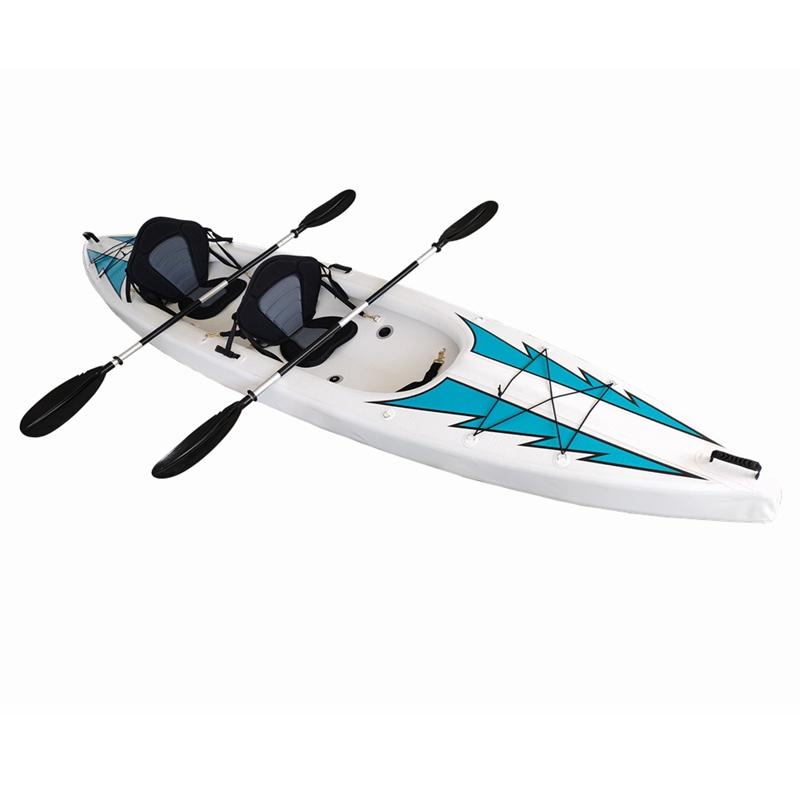 Asientos Doubel kayaks inflables de material de punto de caída