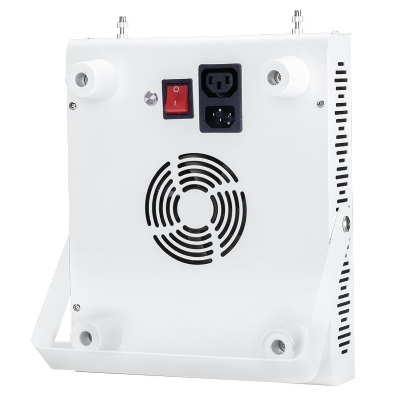 RD500 Rojo 660nm e infrarrojo cercano 850nm dispositivos de lámparas de terapia de luz en el hogar, 500W Luz de terapia LED portátil para el alivio de la piel y el dolor