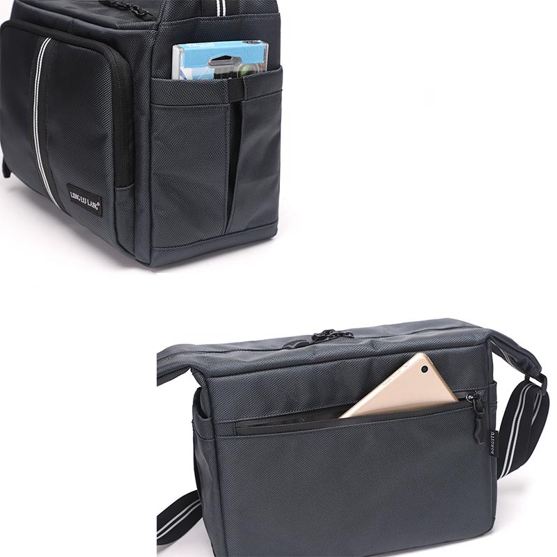BRTMH50 Bolso de hombro único de alta calidad para hombres bolso de negocios bolsa de cámara portátil impermeable de nylon