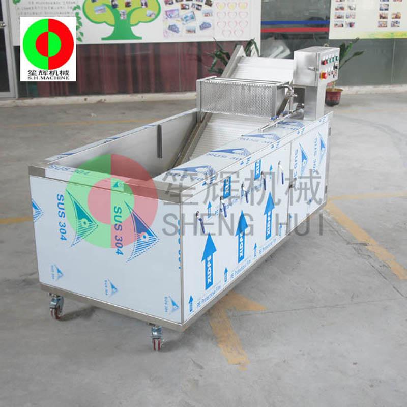 La lavadora de frutas y verduras resuelve el problema de la limpieza de frutas y verduras.