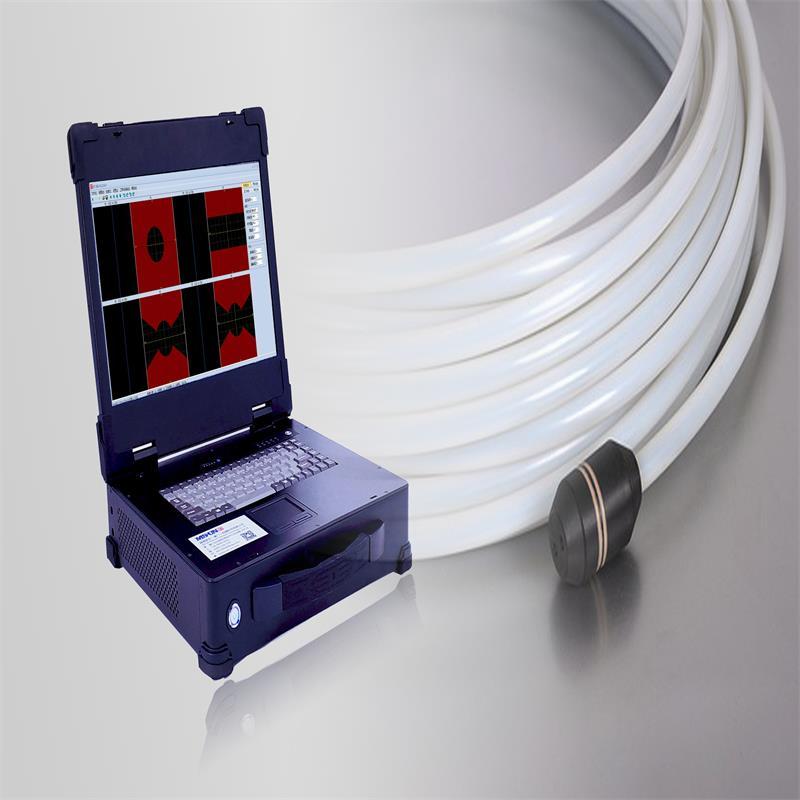 Detector de corriente de Foucault digital inteligente multicanal y multicanal EK3000