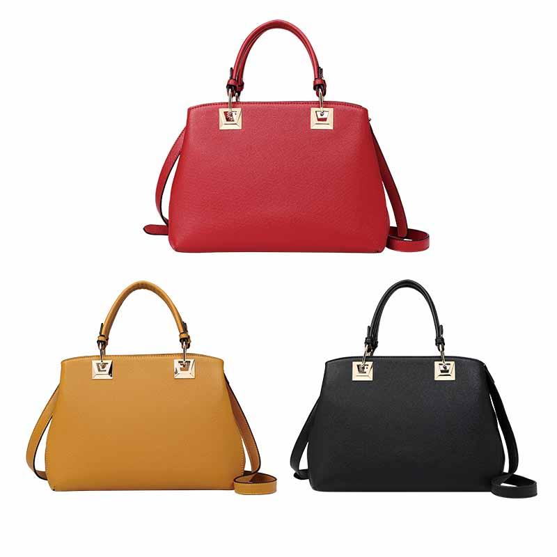 Bolso de cuero PU de las mujeres de moda más vendidas-HZLSHB008
