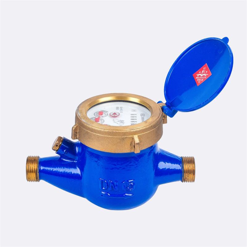 Medidor de agua ajustable externo tipo Multi Jet seco