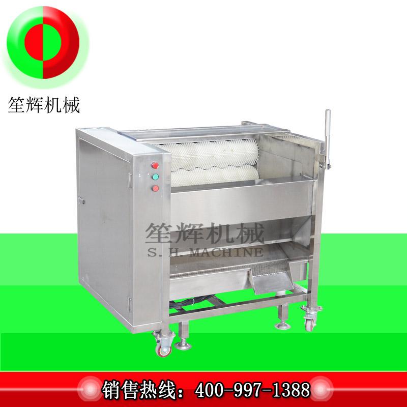 Introducción de la máquina de cepillo de frutas y verduras.