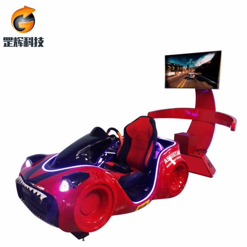 Simulador de carreras Virtual Reality Machine global Hot Thematic Park Equipment Triangle Virtual Reality Race