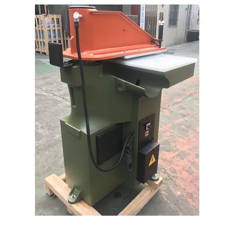 Máquina de prensa de corte ATOM reconstruida usada para zapatos y bolsos de cuero