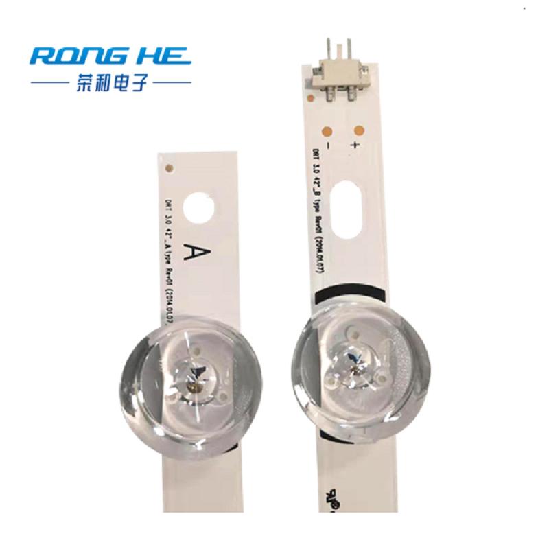 Tira de retroiluminación LED de lente grande original de TV LCD LG42