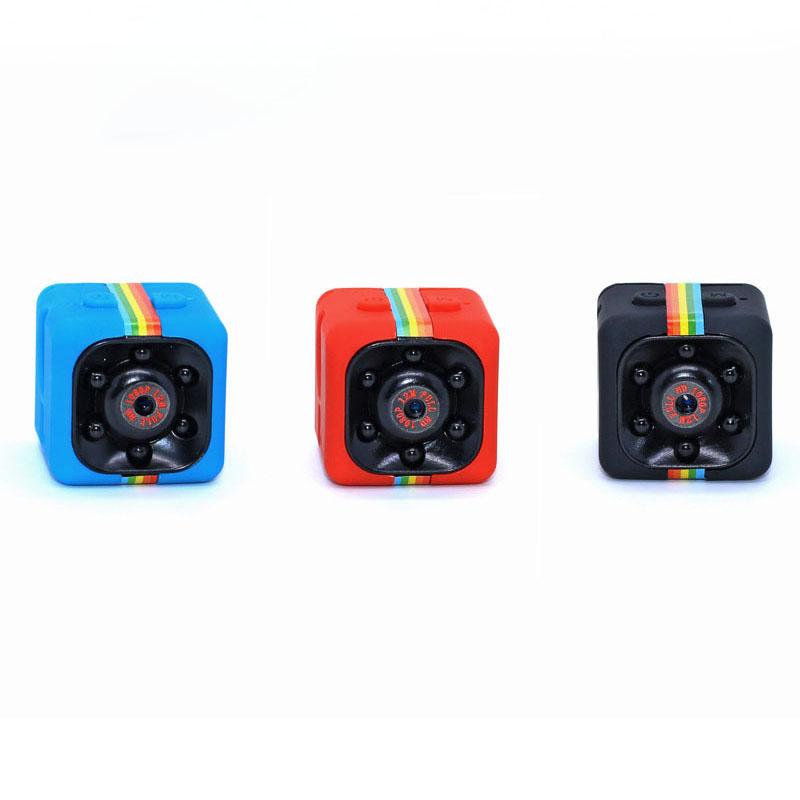 Mini cámara de bolsillo portátil Real HD 720P SQ11 ángulo de visión de 140 grados