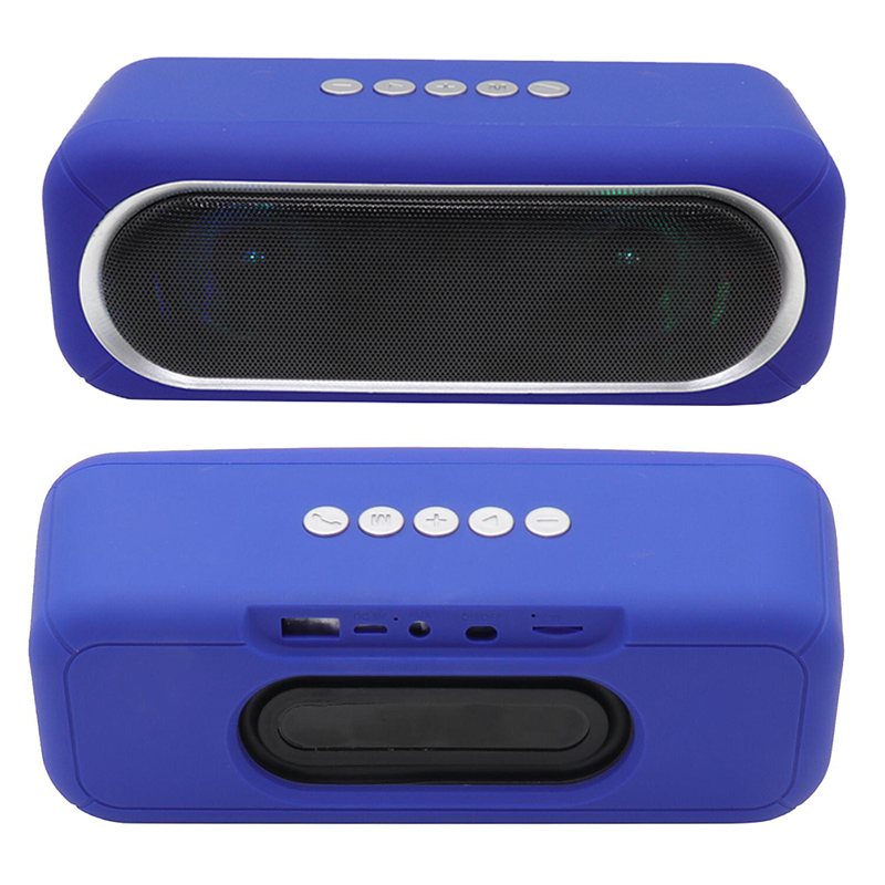 Altavoz Bluetooth OS-590 con luz colorida parpadeante