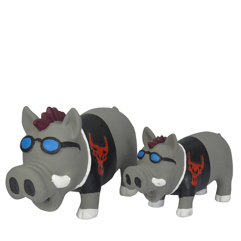 Fábrica látex chirriante mascota juguete perro masticar juguete