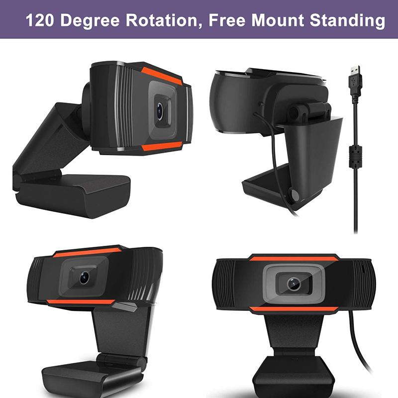 Alta resolución 1080 P, cámaras web, escritorios rotables, cámaras usb - 2.0, micrófonos digitales.